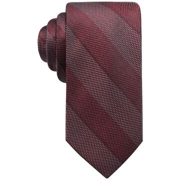 Ryan Seacrest Distinction Mens Plaid Check Necktie