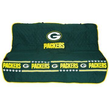 Pets First Green Bay Packers Car Seat Cover, Standard, Multi-Color