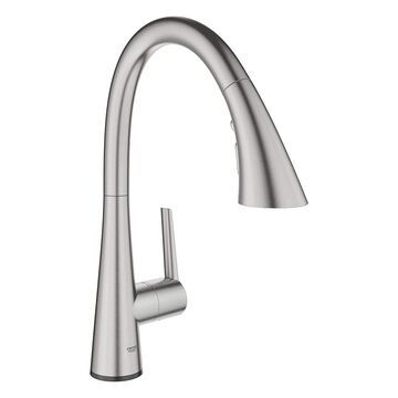 GROHE Ladylux Single-Handle Pull-Down Kitchen Faucet W/ Touch Technology