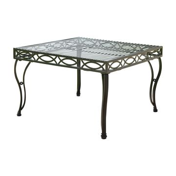 International Caravan Segovia Square Patio Coffee Table