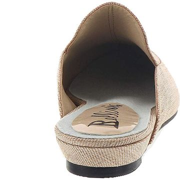 Bellini Womens formosa Fabric Pointed Toe Mules