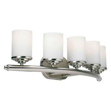 Forte Lighting 5105-05 5 Light Bathroom Fixture