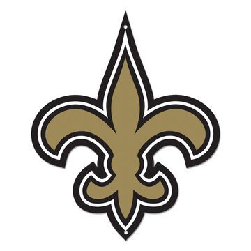 Authentic Street Signs New Orleans Saints Steel Logo Sign