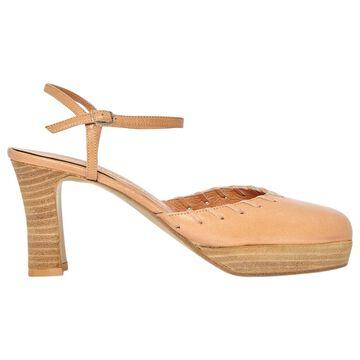 Vanessa Bruno Beige Leather Sandals