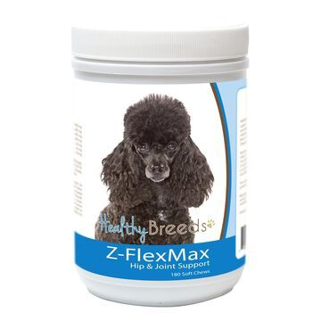 840235156215 Poodle Z-Flex Max Dog Hip & Joint Support - 180 Count