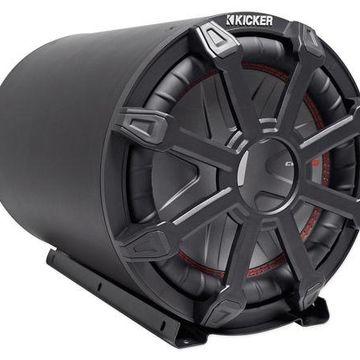 ''KICKER 45CWTB102 TB 10'''' 800w Marine Loaded Subwoofer Enclosure+Passive Radiator''