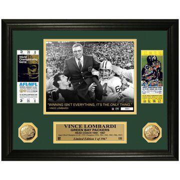 Highland Mint Green Bay Packers Ticket Photomint