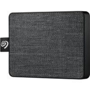 Seagate 1TB One Touch USB 3.0 External SSD, Black