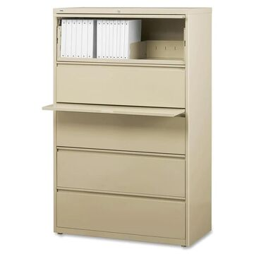 Lorell Putty 42-inch 5-drawer Lateral File (LLR60432)