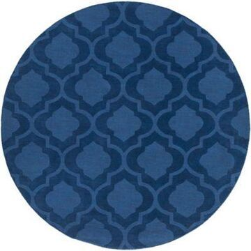 Artistic Weavers Central Park Kate 9-Foot 9-Inch Round Area Rug in Navy
