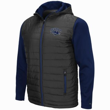 Mens NCAA Nevada Wolf Pack Everest Full Zip Jacket