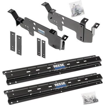 Reese 56001-53 Outboard Fifth Wheel Custom Quick Install Kit for Select Vehicles