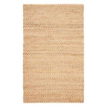 Jaipur Living Braidley Natural Solid Beige Area Rug, 2'6