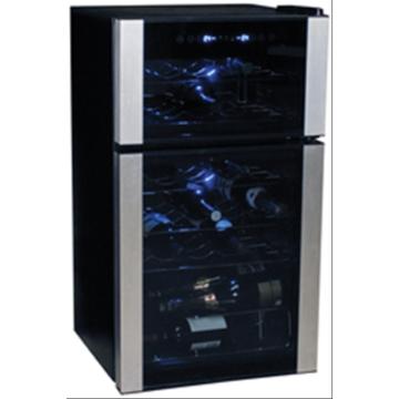 Koolatron Elite Series 29 Bottle Dual Zone Wine Cooler Freestanding