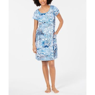 Printed Knit Nightgown