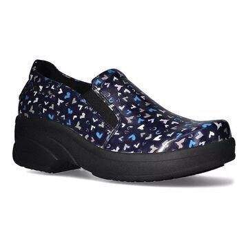 Easy Works by Easy Street Appreciate Women's Work Shoes, Size: 7.5 XW, Blue