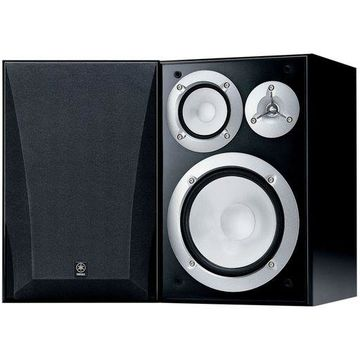''Yamaha NS-6490 3-Way Bookshelf Speakers, Black Finish ( Pair )''