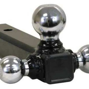 BUYERS PRODUCTS 1802207 Triple Hitch Ball,Chrome