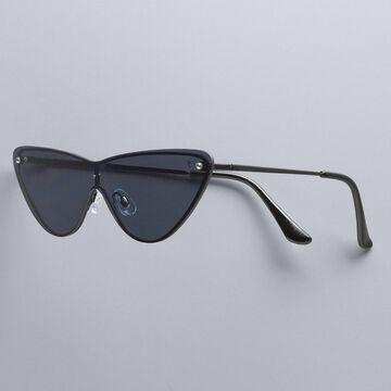 Simply Vera Vera Wang Ru Metal Cat-Eye Sunglasses