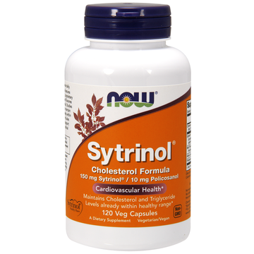 Sytrinol Cholesterol Formula Now Foods 120 VCaps