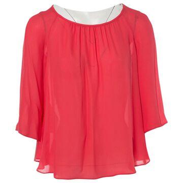 Emporio Armani Pink Silk Tops