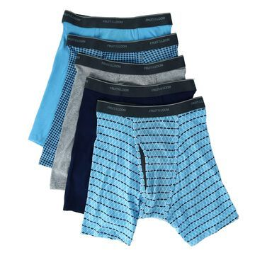 Fruit of the Loom Men's Coolzone Mesh Fly Boxer Brief (5 Pack)