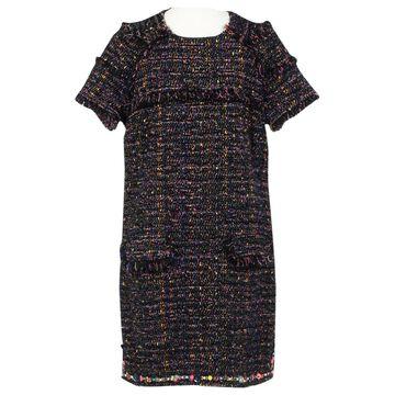 Msgm Multicolour Wool Dresses