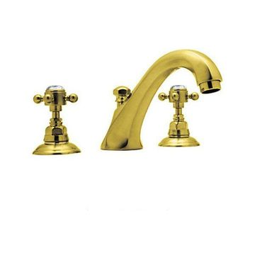 Rohl Tub Filler Faucet in Inca Brass