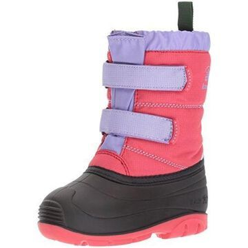 Kamik Girls' Pumpkin Snow Boot, Dark Rose, 8 Medium US Toddler