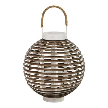 Stratton Home Decor Rattan Lantern