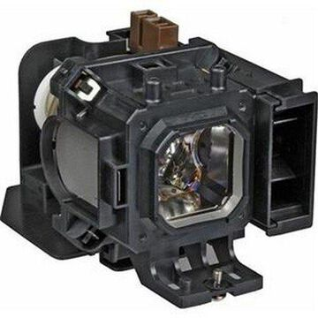 NEC VT590 Projector Housing with Genuine Original OEM Bulb