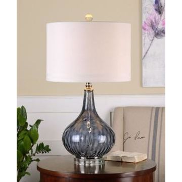 Uttermost Sutera Water Glass Table Lamp
