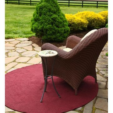 Rhody Rug Madeira Indoor/ Outdoor Braided Rug