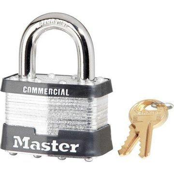 Master Lock Padlock - Keyed Different - Laminated Steel Shackle