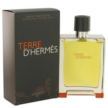 Terre D'Hermes by Hermes Pure Perfume Spray 6.7 oz for Men (Package of 2)