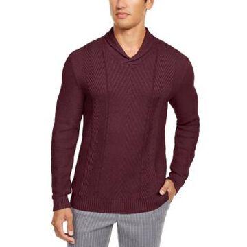 Tasso Elba Men's Textured Sweater, Created for Macy's