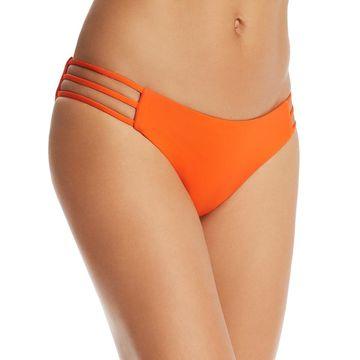 L Space Womens Kennedy Cut-Out Bikini Swim Bottom Separates