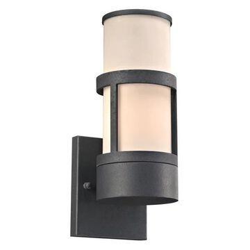 PLC Lighting 8047BZ Plc 1 Light Outdoor Fixture Qubert Collection 8047