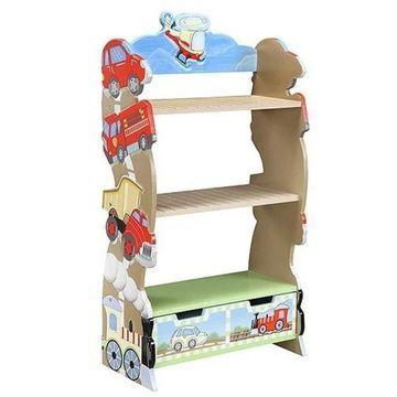 Teamson Ride Around Bookshelf
