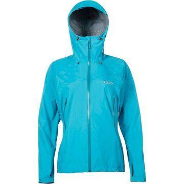 Rab Women's Downpour Plus Jacket - XS - Tasman