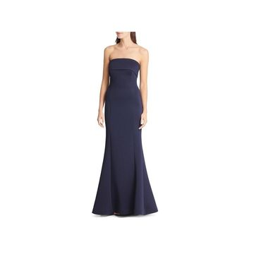 Eliza J Womens Evening Dress Strapless Mermaid