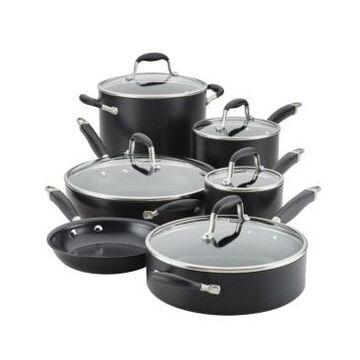 Anolon Advanced Home Hard-Anodized Nonstick 11-Pc. Cookware Set