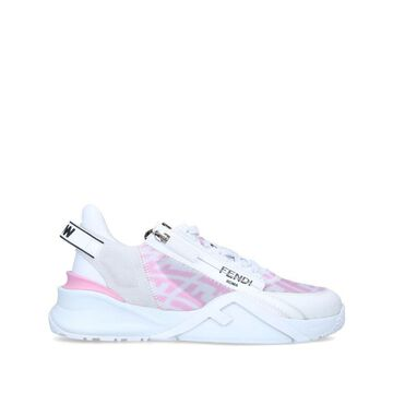 Fendi Leather Flow Sneakers 30