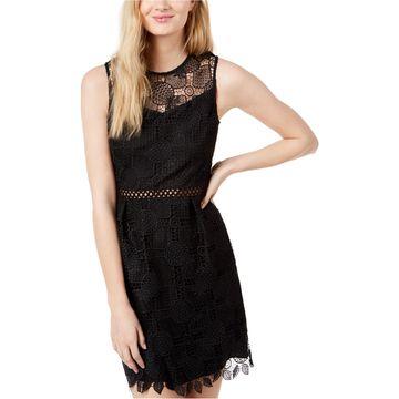 maison Jules Womens Pineapple A-line Dress
