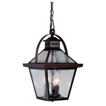 Acclaim Lighting 7676ABZ Bay Street 3 Light 16 5 Height Outdoor Pendant