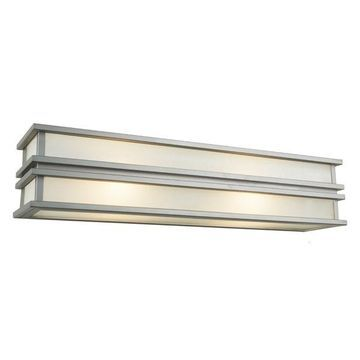 Artcraft Lighting Gatsby Wall Sconce, Brushed Stainless Steel