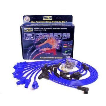 Taylor Wire / Vertex 74658 TAY74658 8MM SPIRO-PRO CUSTOM 8 CYL BLUE
