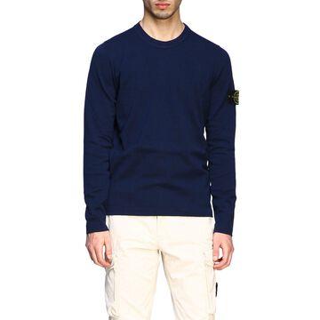 Stone Island Crewneck Sweater With Logo