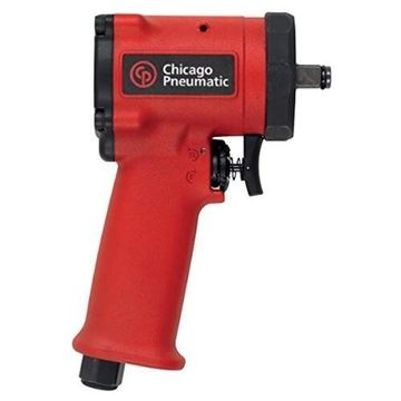 Chicago Pneumatic CP7731 38 Stubby Impact Wrench, Red