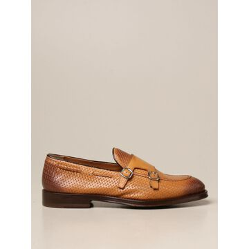 Doucal's shoe in genuine woven leather